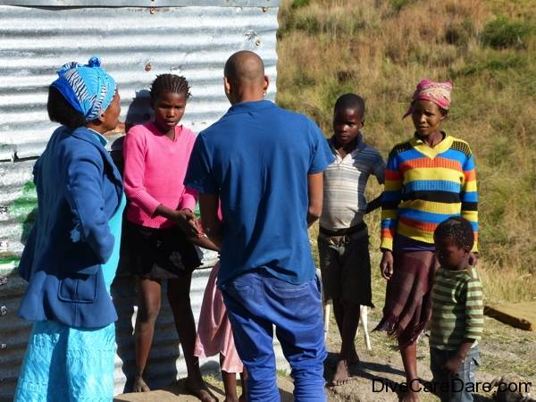 African Dive Adventures, Mandela Day, Beulah Mauz, Coffee Bay, charity